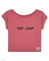 T-Shirt Lady Tri - TRI-CUP - Rose