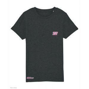 T-Shirt Triathlon Enfant T2 - Noir