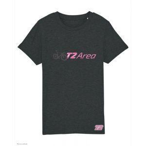 T-Shirt Triathlon Enfant T2 Area - Noir