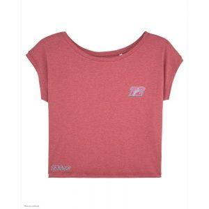 T-Shirt Lady Tri - T2 - Rose