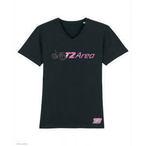 T-Shirt Triathlon T2 Area - Noir - Col V