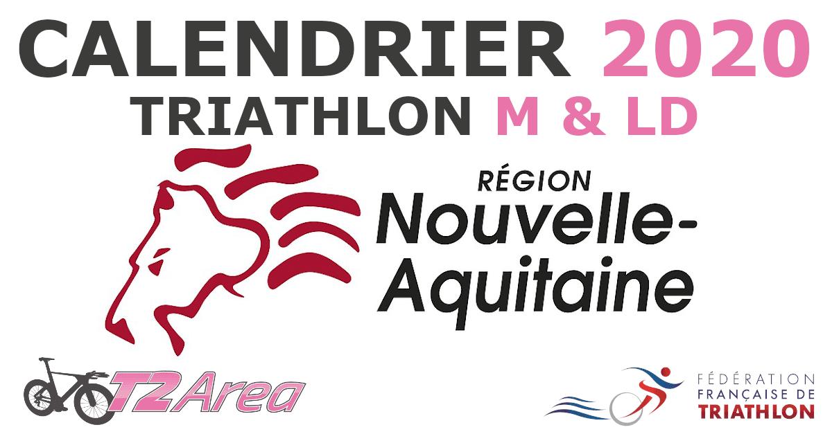 Calendrier Triathlon FFTRI   Ligue Nouvelle Aquitaine